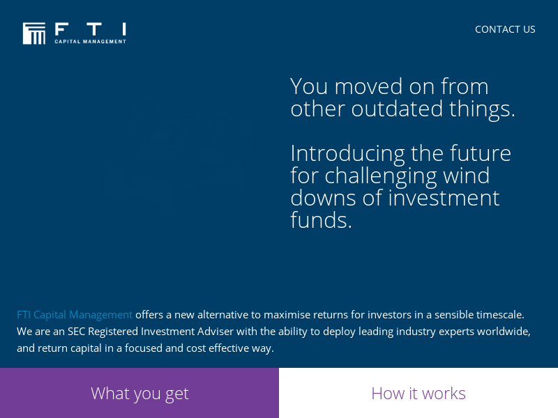 FTI Capital Management | Home