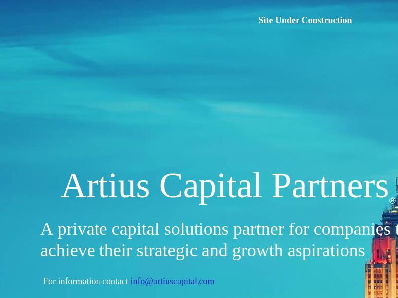 Artius Capital Partners