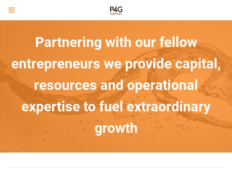 P4G Capital Management - P4G Capital Partners