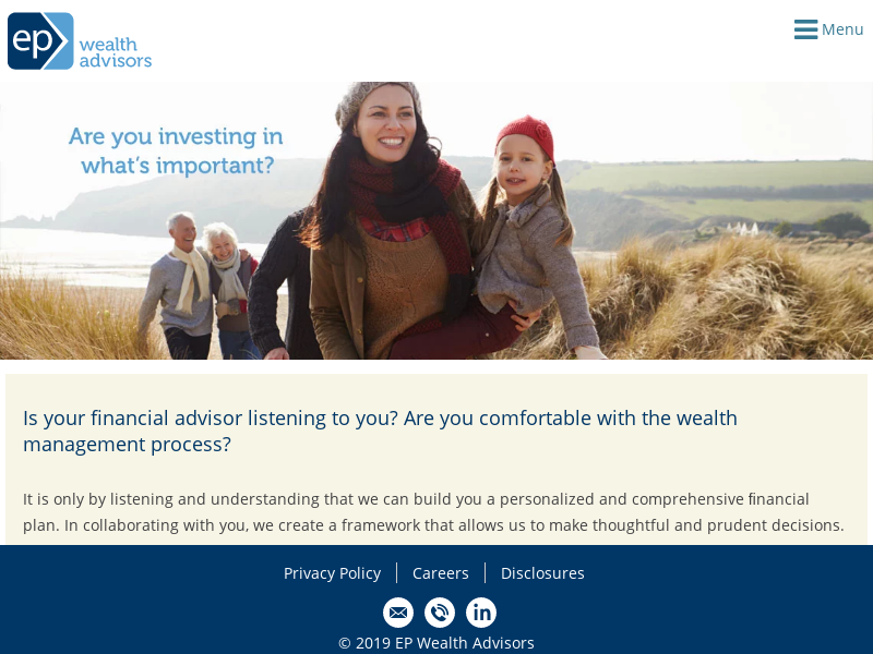 CPIC International | EP Wealth Advisors