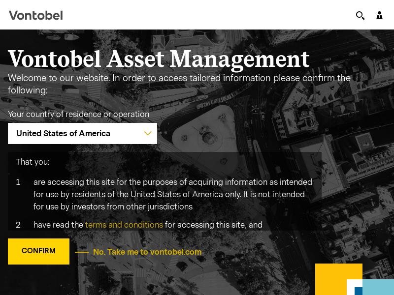Quality Growth Boutique | Vontobel Asset Management