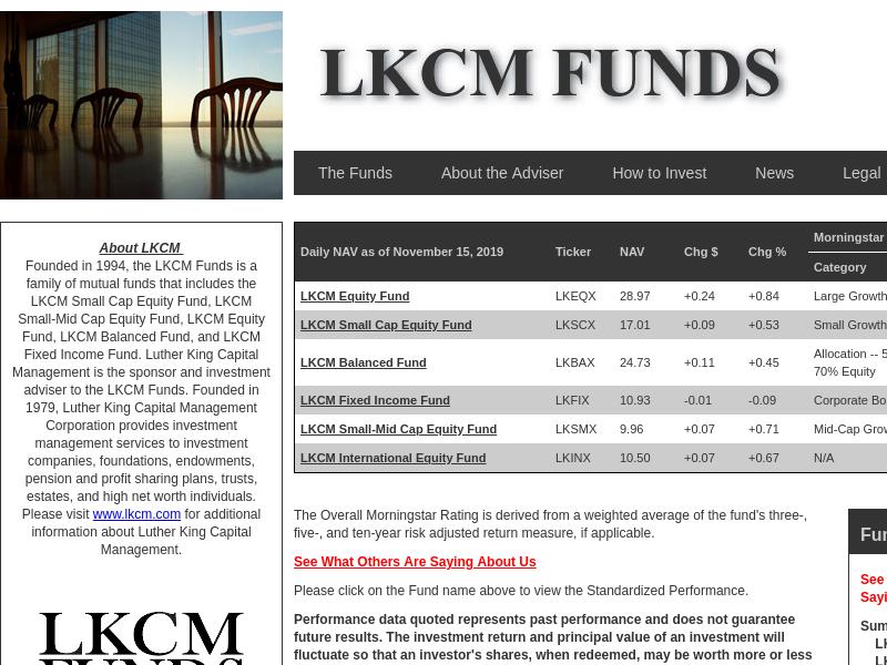 LKCM Funds