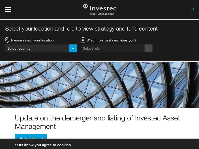 Home | Global | Investec Asset Management