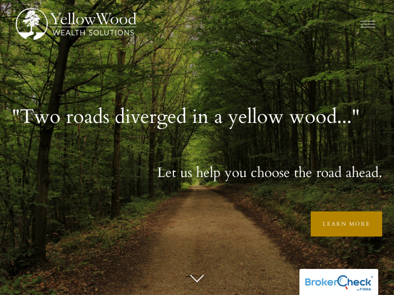 Charlotte, NC - Investment & Financial Planning — YellowWood Wealth Solutions
