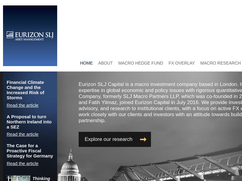 SLJ Macro Partners | Hedge Fund, FX Overlay, Research & Advisory