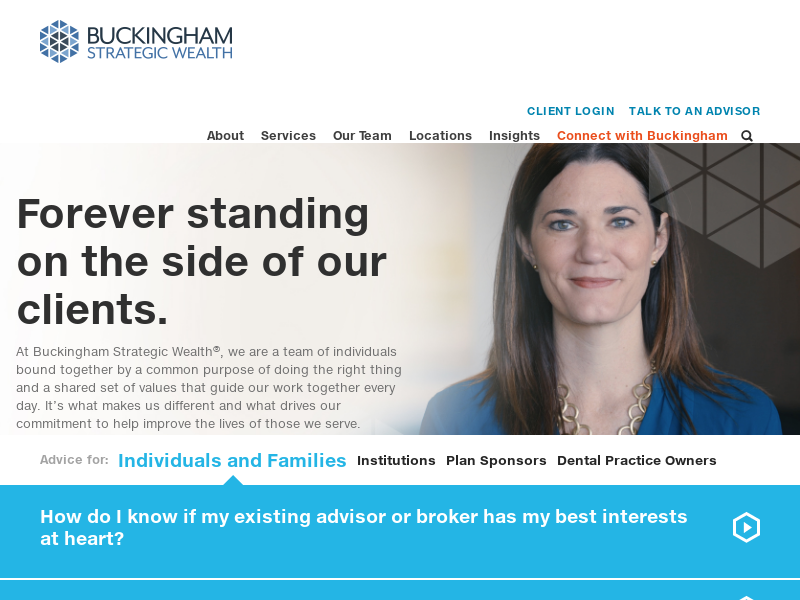 Buckingham Strategic Wealth | Fiduciary Financial Advisors