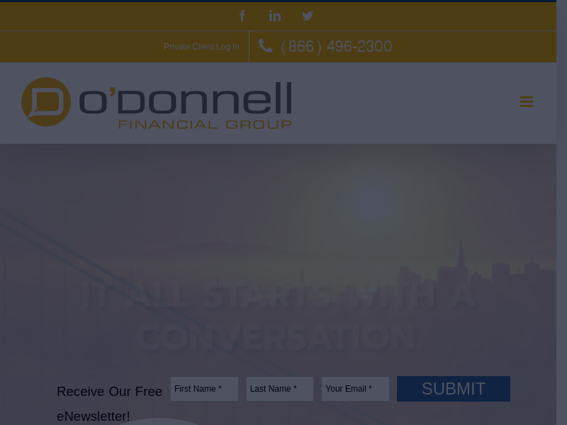 O'Donnell Financial Group | Wealth Management, Mortgage & Insurance Financial Advisor