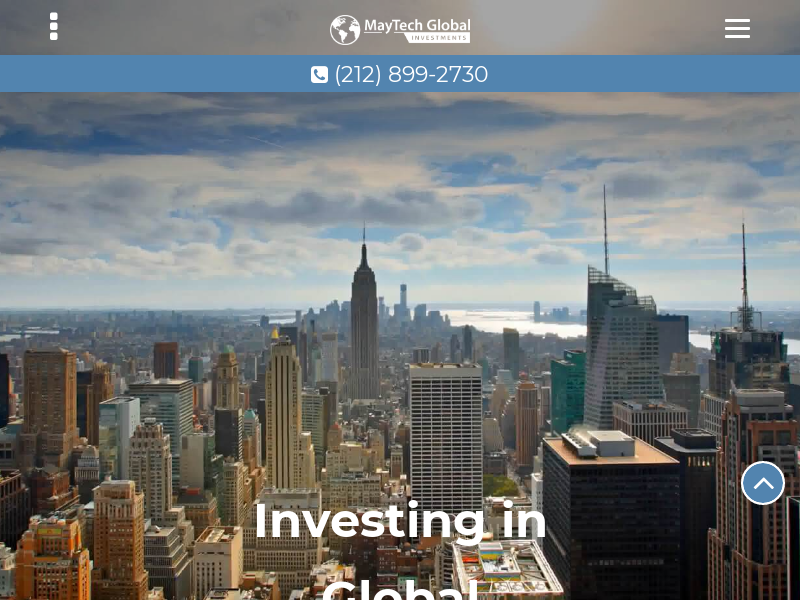Asset Management Firm | MayTech Global Investments, LLC | New York, NY