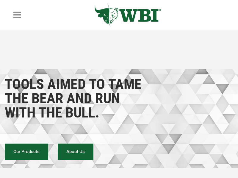 WBI Shares | Tame the Bear. Run With the Bull.