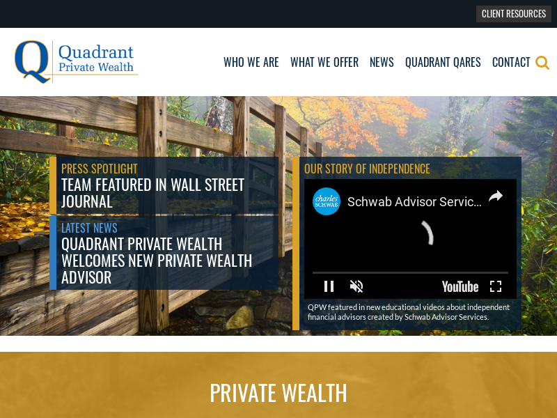 Quadrant Private Wealth