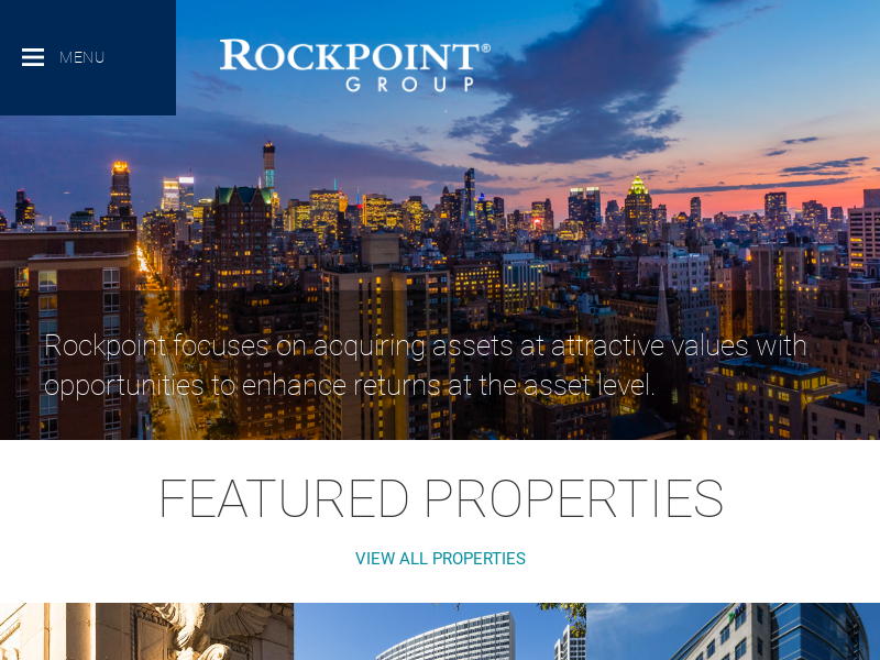 Home - Rockpoint Group, L.L.C.