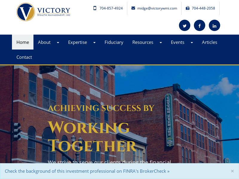 Home | Victory Wealth Management, Inc.