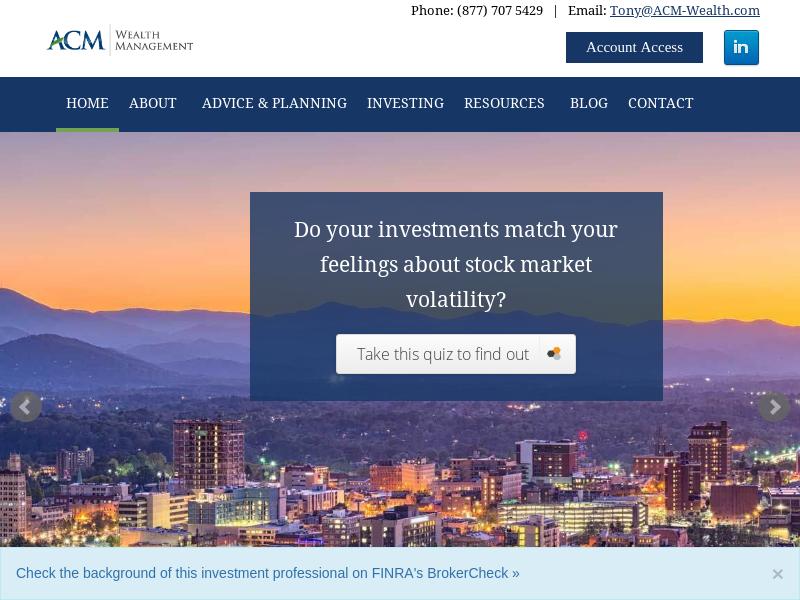 Home   ACM   Wealth Management
