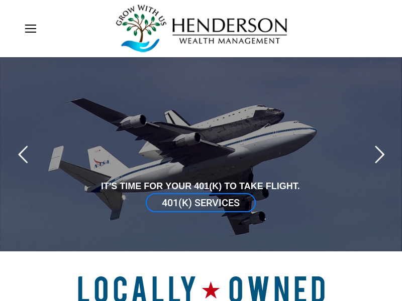 Henderson Wealth Management | Veteran Owned Financial Services Firm