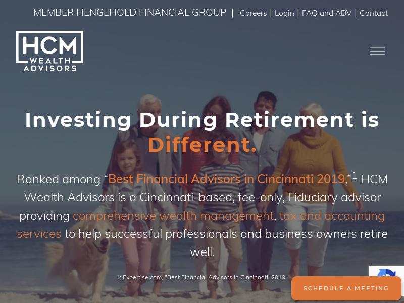 Cincinnati, OH   Fiduciary Financial Advisors — HCM Wealth Advisors   Cincinnati, Ohio