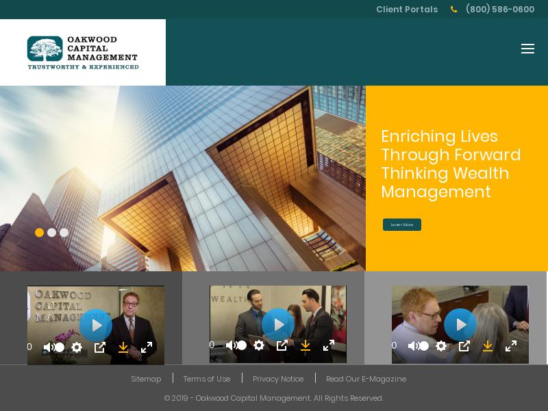 Home - Oakwood Capital Management
