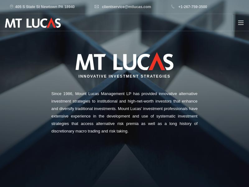 Mount Lucas Management