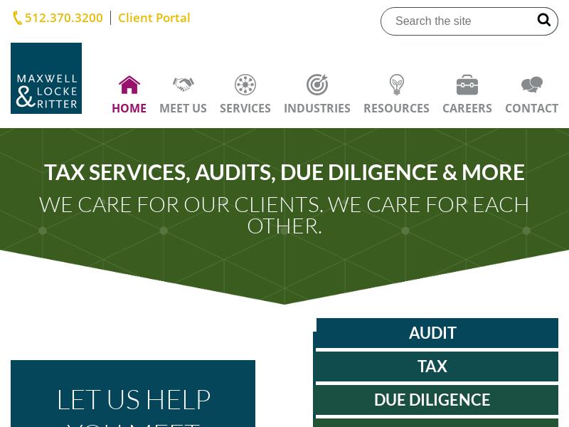 Austin CPA Firm   Experienced Service   Maxwell Locke & Ritter