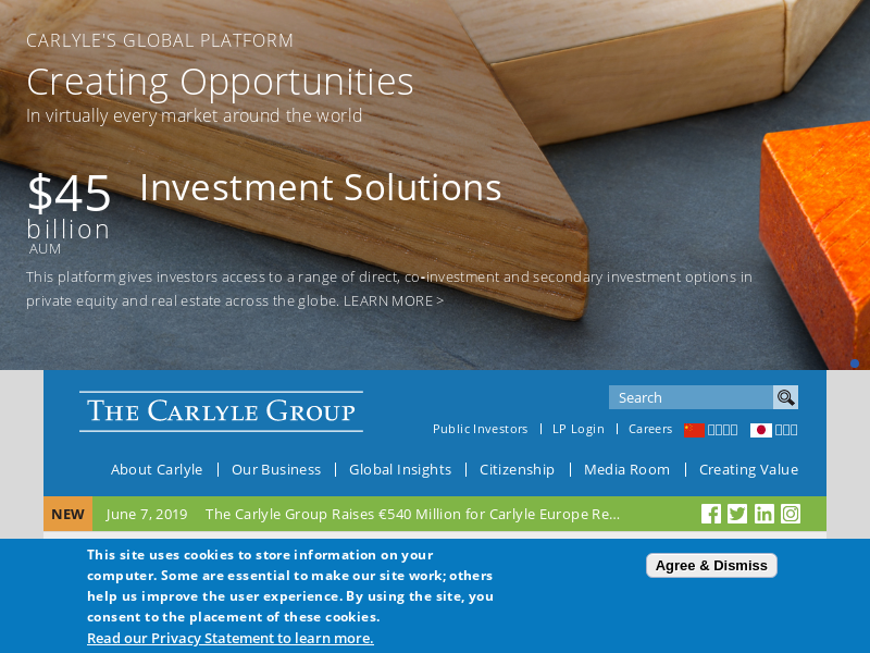 Carlyle Cardinal Ireland | The Carlyle Group