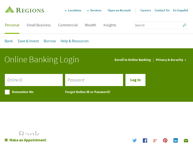 Banking Services: Checking, Savings, Mortgage | Regions