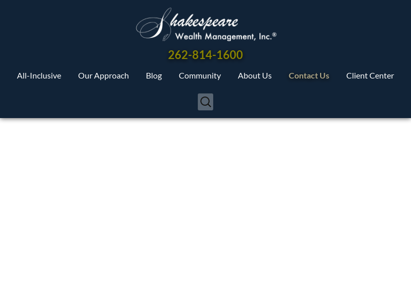 Financial Advisor Milwaukee | Shakespeare Wealth Management - Pewaukee, WI