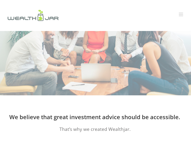 Wealthjar – An investment advisor is within your reach