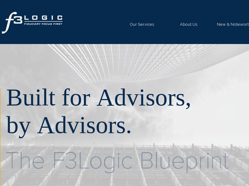 Advisor Architects | F3Logic | United States