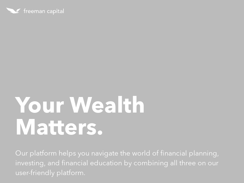 Freeman Capital – Your Wealth Matters