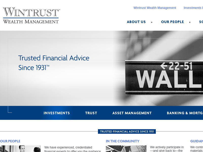 Welcome | Wintrust Wealth Management