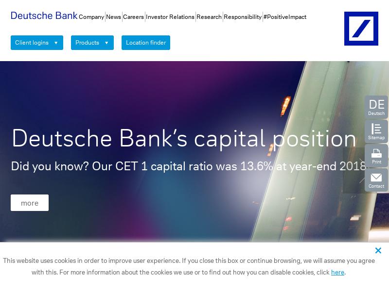 Deutsche Bank Securities Inc New York Ny Vermeiden Sie