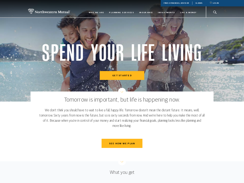Northwestern Mutual | Spend Your Life Living