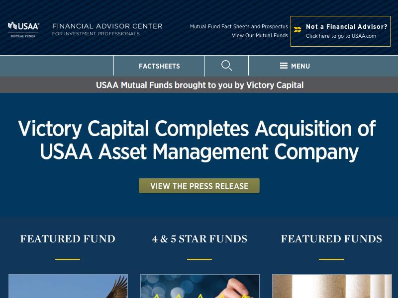 USAA Financial Advisor Center :: Home