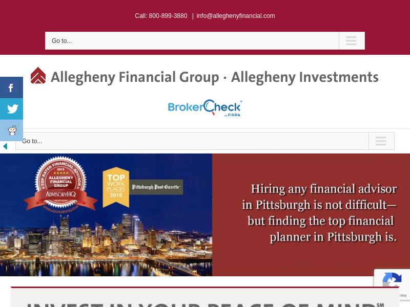 Allegheny Financial Group