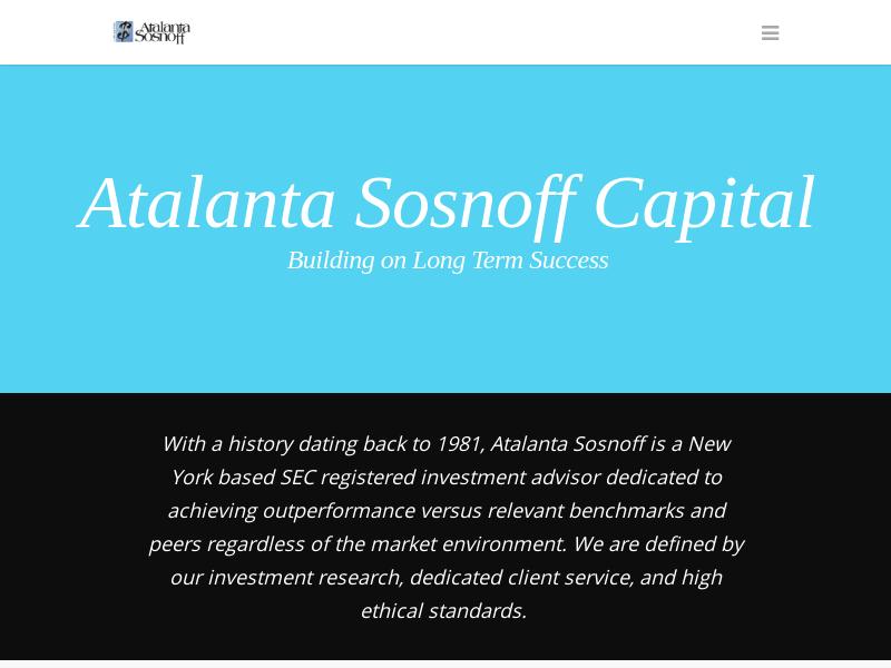 Home - Atalanta Sosnoff Capital