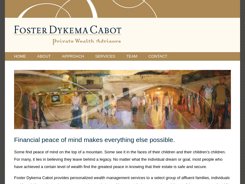 Foster Dykema Cabot & Co. | Private Wealth Advisors