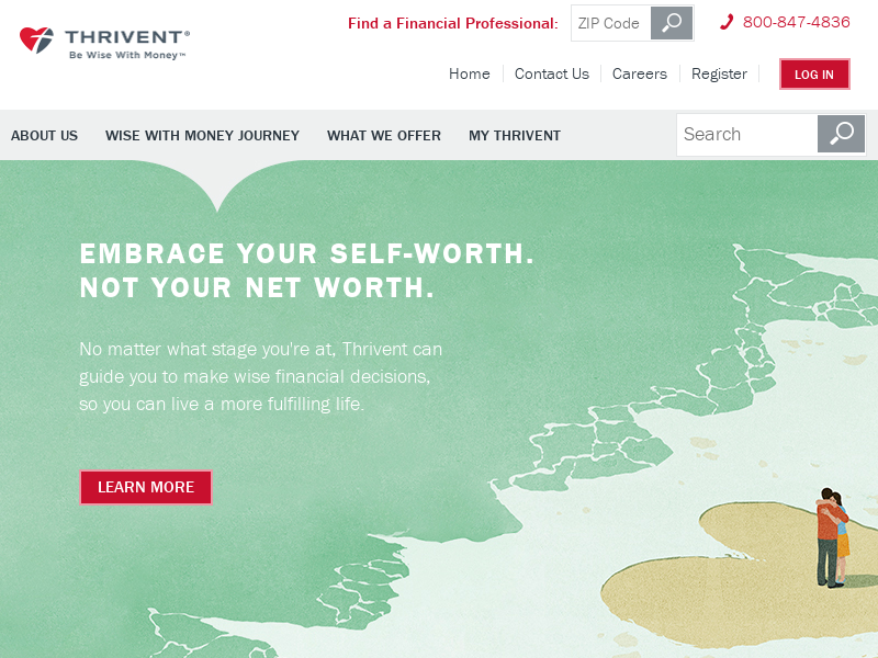 Thrivent   Be Wise with Money   Financial Guidance