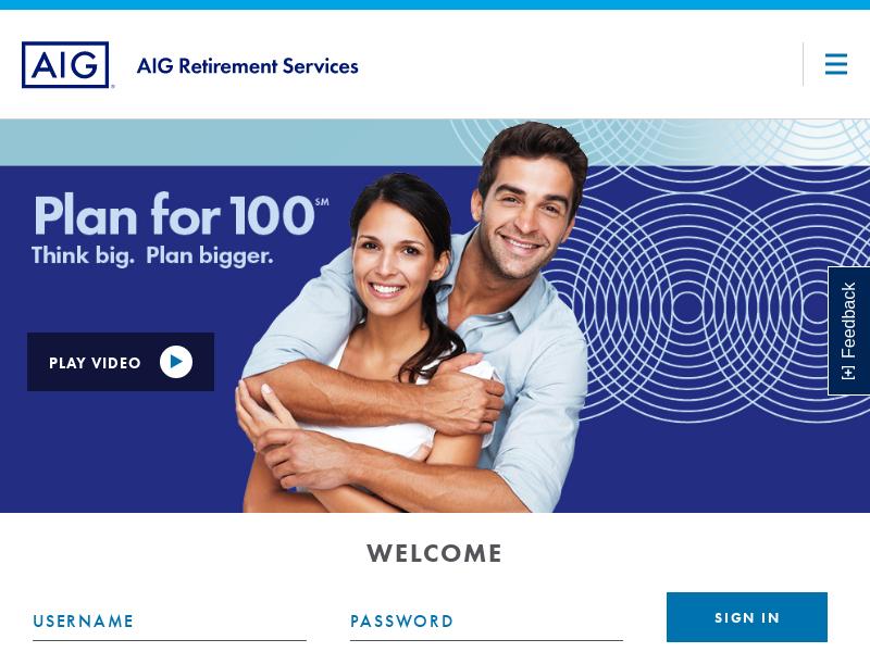AIG | AIG Retirement Services