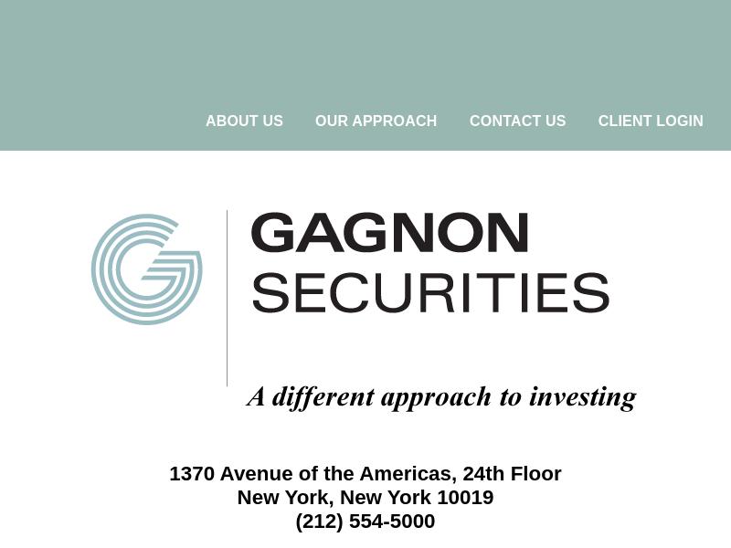 Gagnon Securities