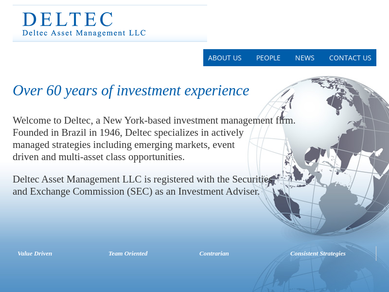 Deltec Asset Management – Over 60 years of investment experience