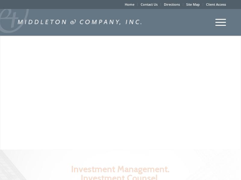 Middleton & Company, Inc. - Boston, MA