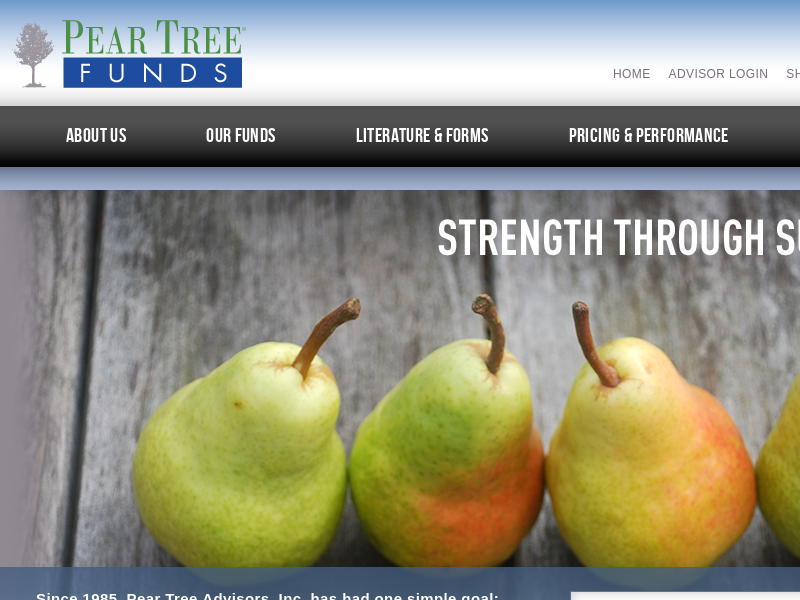 Pear Tree Funds |