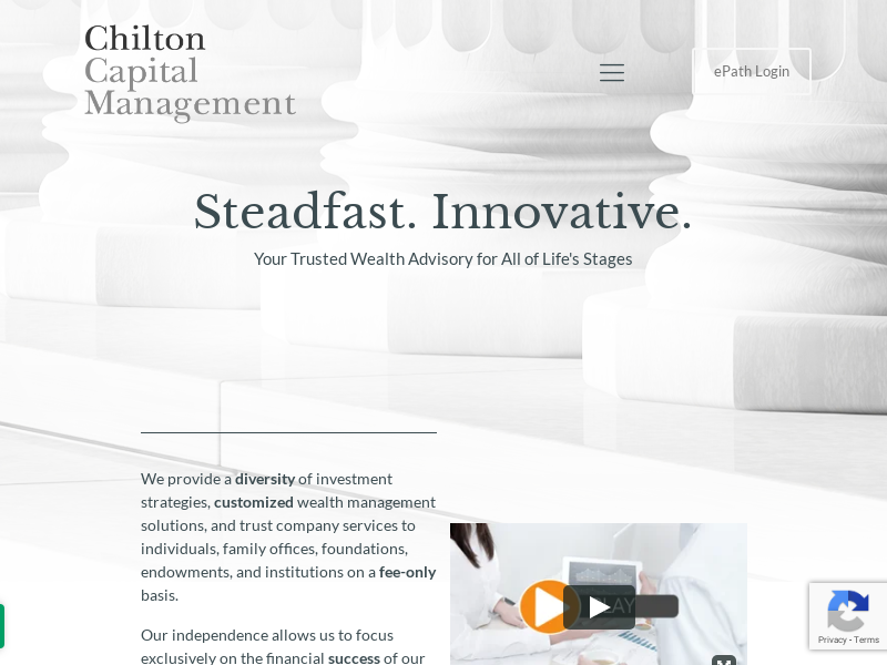 Chilton Capital Management - Houston-Based Wealth Management Firm
