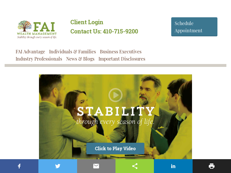FAI Wealth Management in Columbia, Maryland