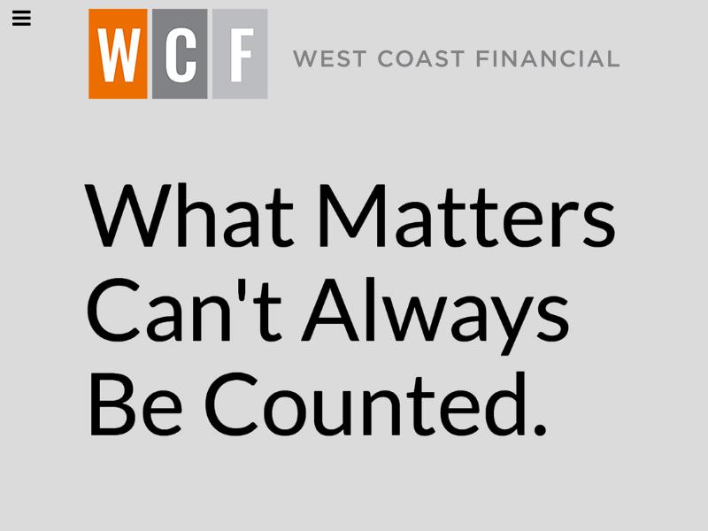 West Coast Financial - Home