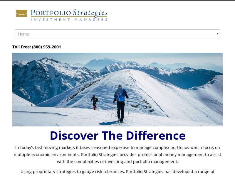 Portfolio Strategies Investment Managers