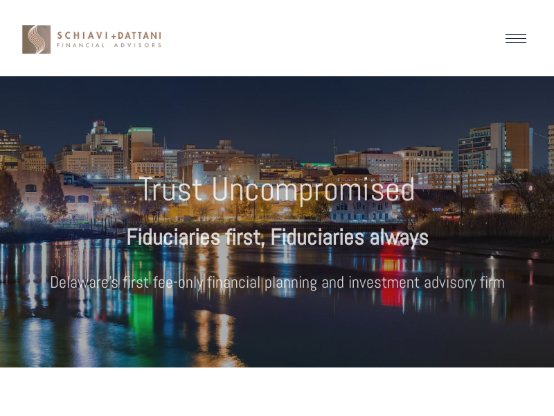 Financial Advisors   Wilmington, DE — Schiavi + Dattani Financial Advisors   Wilmington, DE