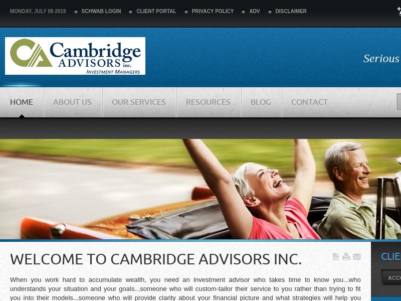 Cambridge Advisors Inc. | Financial Advisor Omaha, NE