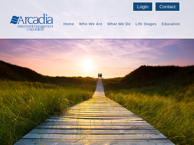 Investment management for individuals, families, foundations, endowments   Arcadia Investment Management Corporation