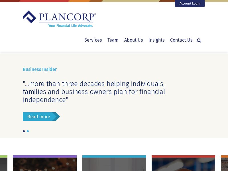 Plancorp: Wealth Management and Financial Services