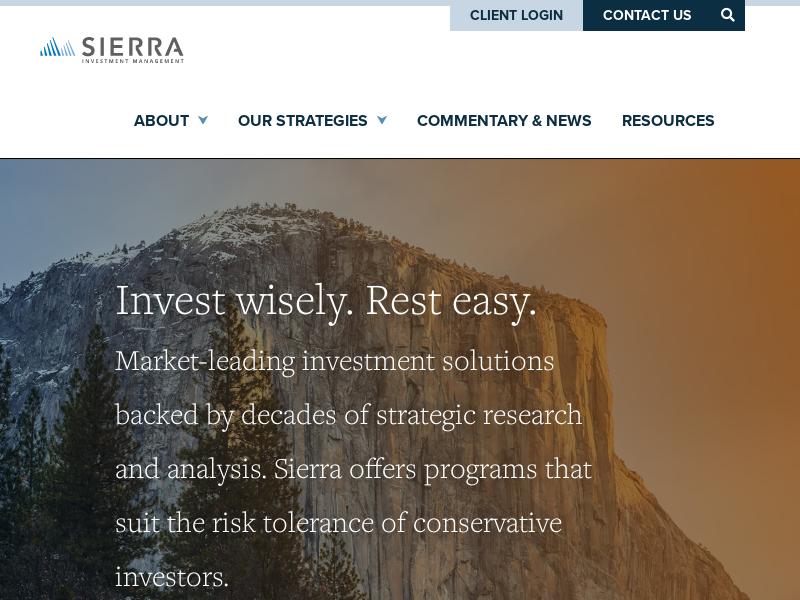 Sierra Investment Management | A Registered Investment Advisor Firm